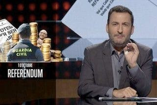 "Un presentador de TV3 llama ""mafia"" a la Guardia Civil y se queda tan ricamente"