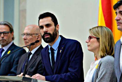 El independentista Torrent se 'caga' y suspende la ilegal sesión de investidura