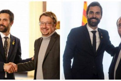 ¿Por qué los 'títeres' de Sánchez e Iglesias siguen protegiendo el circo golpista del cobarde Torrent?