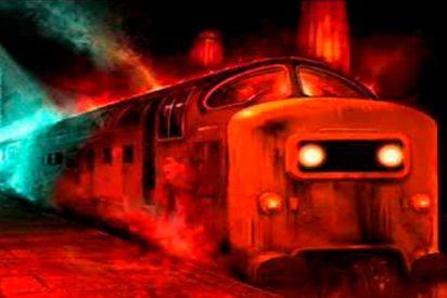 """Este vídeo de un """"tren fantasma"""" que 'recoge pasajeros' en una estación asusta a las redes"""