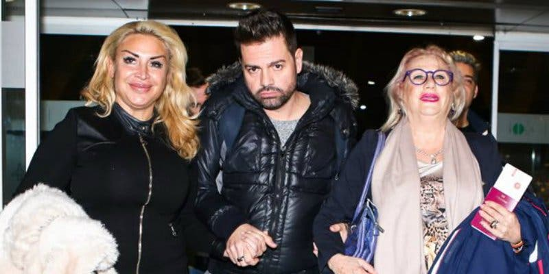 Los 'concursantes' Alberto Isla, Mayte Zaldívar y Raquel Mosquera van ya camino a 'Supervivientes'