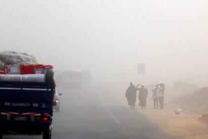 Así es la terrible tormenta de arena que azota a Egipto sin piedad