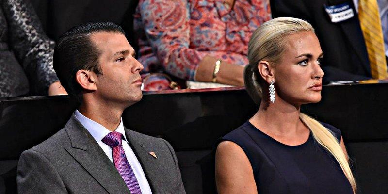 Donald Trump Jr. confirma que se divorcia tras 12 años y cinco hijos