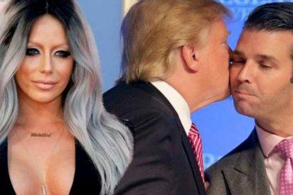 ¡Una cuestión genética!: El hijo de Donald Trump, también infiel a su mujer con una concursante del reality de su padre