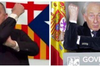"""A TV3 le sienta como el culo la manifestación de Tabarnia: """"Abajo que viene la extrema derecha"""""""