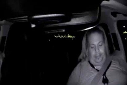 Este vídeo demuestra que el conductor del Uber autónomo no estaba mirando la carretera antes del accidente letal