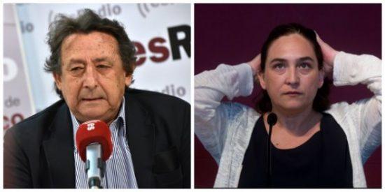 Un insuperable Ussía destroza a la inculta 'Nada' Colau y afirma que sus majaderías han hundido Barcelona