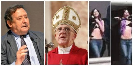 Alfonso Ussía 'acojona' a la Conferencia Episcopal contando lo que las feminazis podemitas le harían a la Virgen
