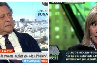 Alfonso Ussía incendia Onda Cero dando un dato demoledor y definitivo sobre la feminista Julia Otero