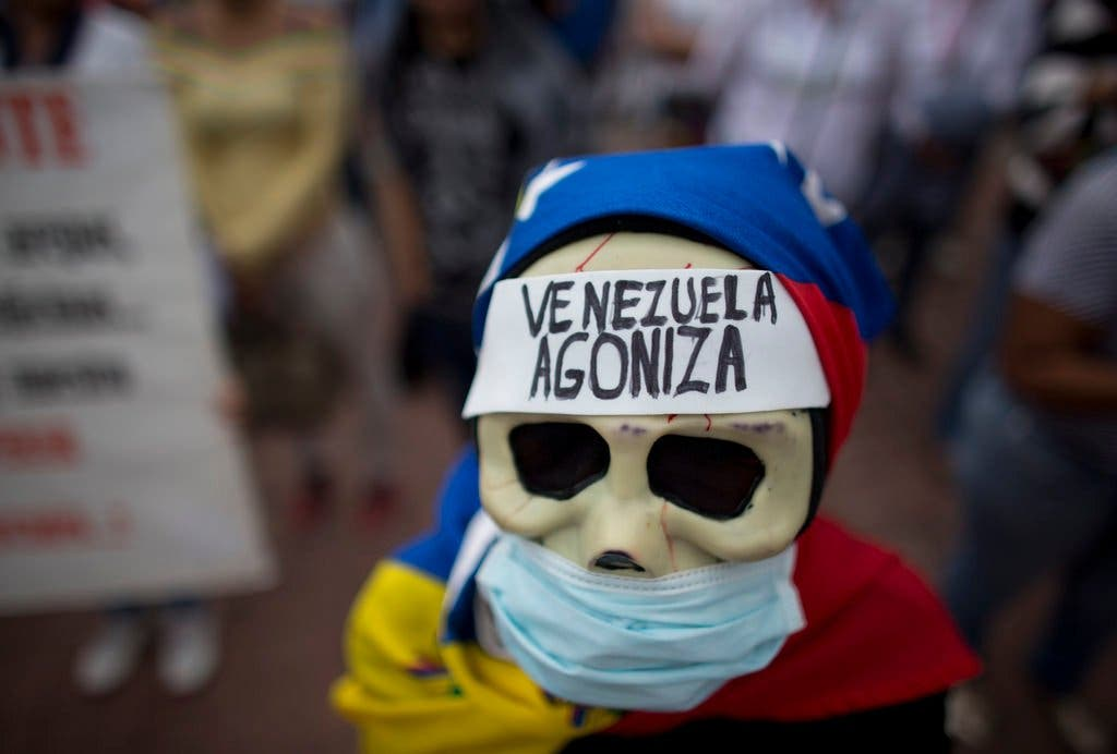 "Eleonora Bruzual: ""El viacrucis venezolano"""
