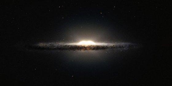 La materia oscura no genera más rayos gamma en el centro de la Vía Láctea