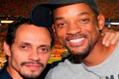 Will Smith aprende a bailar salsa con Marc Anthony