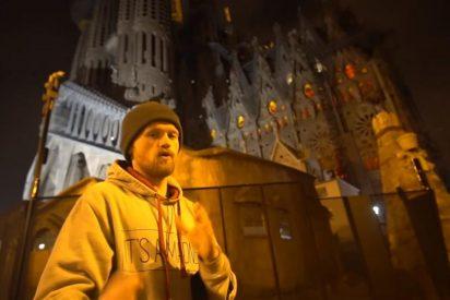 Varios youtubers escalan la Sagrada Familia de Barcelona