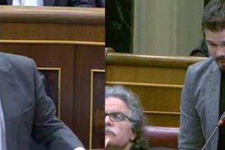 """Zoido manda 'al carrer' al bocazas de Rufián: """"Usted dijo que estaría en el Congreso 18 meses, y sigue aquí un año después"""""""