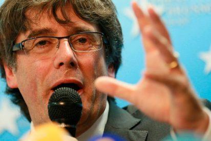 El orgasmo del liberado Puigdemont que deja en estado de buena esperanza a los 'indepes'
