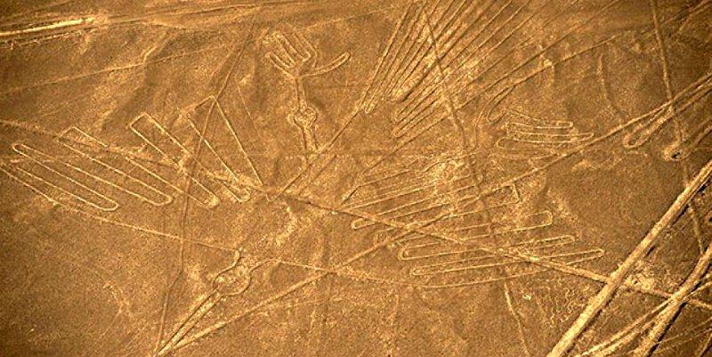 Aparecen docenas de nuevas líneas y geoglifos gigantes en Nazca