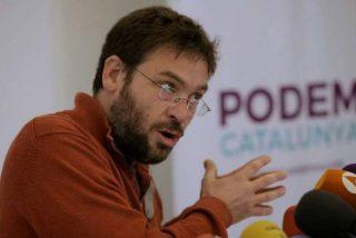 """El ex líder de Podemos en Cataluña asoma su peluda patita batasuna contra Arrimadas y Albiol: """"No cabéis"""""""