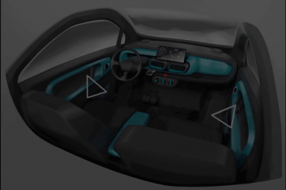 Así es primer coche de producción masiva impreso en 3D