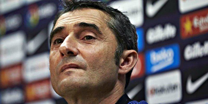 Peligra el puesto de Valverde en el Barça