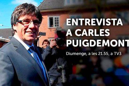 El plural director de TV3 y su singular entrevista-masaje a Puigdemont que puede dejarle tieso