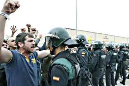La Guardia Civil, harta de la pasividad de los Mossos, atrapa a una cabecilla de los CDR