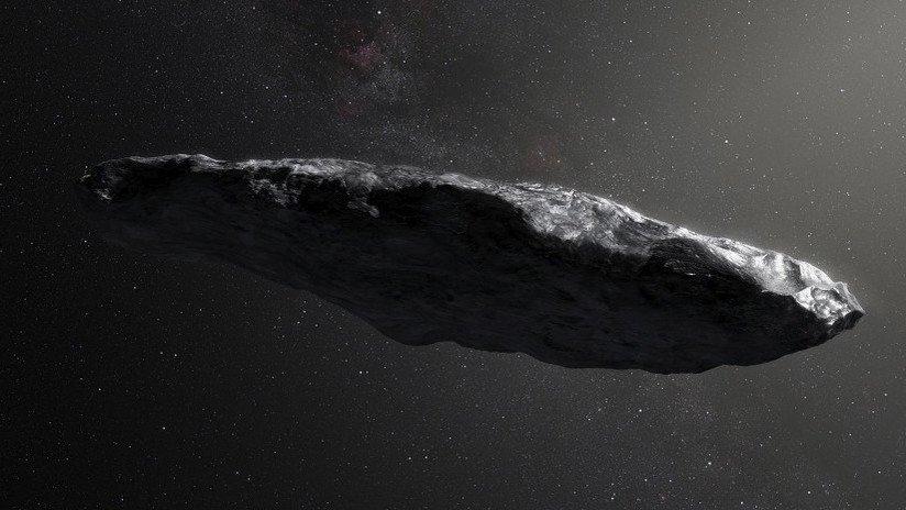 Buscan en la Radio FM mensajes enviados desde el asteroide Oumuamua