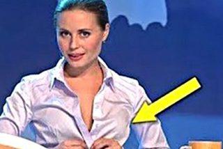 Deslices en televisión: presentadoras pilladas in fraganti