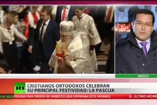 Así celebran la Pascua los rusos, la mayor festividad ortodoxa