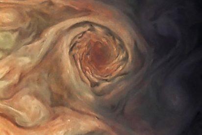 La menguante Gran Mancha Roja de Júpiter, en todo su esplendor
