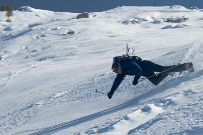 El esquiador con más mala suerte del mundo y unos consejos útiles si vas a la nieve