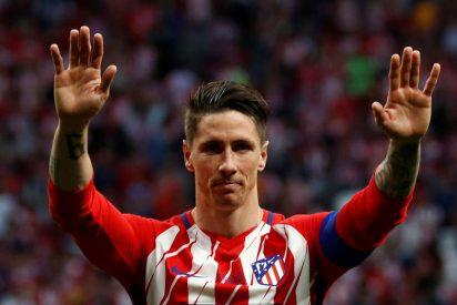 Fernando Torres se despide del Atleti
