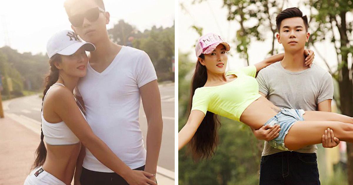 Esta china ha cumplido con creces los 50 pero parece la novia de su hijo