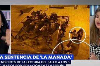 """Una abogada se harta de Lucía Etxebarria por el caso 'La Manada': """"¡Tienes un discurso rancio!"""""""