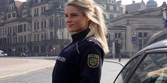 Esta es, para muchos, la policía mas guapa del mundo