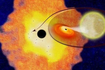 Una docena de agujeros negros coexisten en el centro de la Vía Láctea