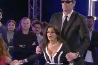 ¡Brutal!: Un guardia de seguridad saca a rastras a Aída Nízar del 'GH' italiano