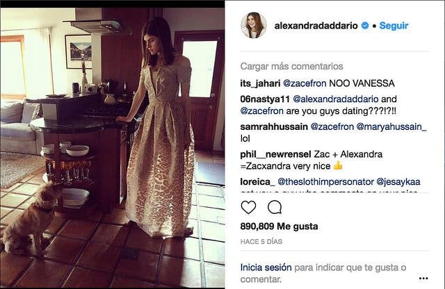 Zac Efron y Alexandra Daddario, ¿nueva pareja de actores?