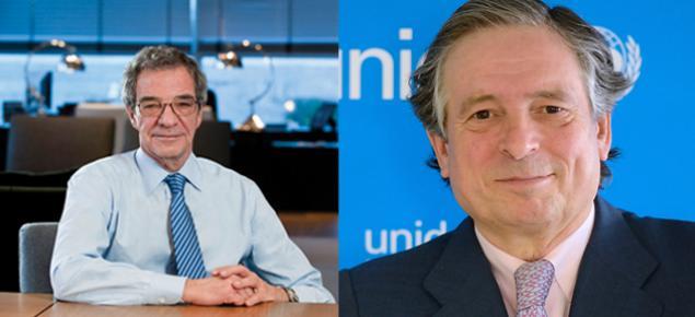César Alierta y Juan José Almagro doctores honoris causa por la Upsa