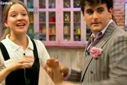 Escalofriante: Alicia se atraviesa un dedo con una aguja e hilo en 'Maestros de la Costura'