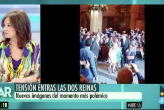 Ana Rosa Quintana revela cómo la Casa Real va a solucionar el mal rollo entre Sofía y Letizia