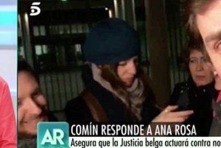 Ana Rosa se parte de risa en la cara del cobardón Comín por su burda estrategia para meterla en prisión