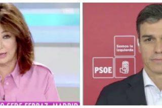 """Pedro Sánchez defiende a Puig y Franco por inflar currículums y Ana Rosa le masacra: """"Eso no es titulitis, es mentir"""""""