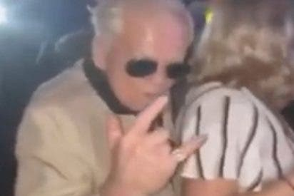 Este anciano discotequero causa furor en internet