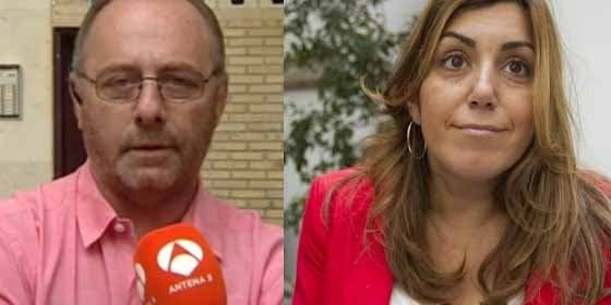 El padre de Marta del Castillo coge por la pechera a la presidenta andaluza cuando se pone a hacer política con la sentencia a 'La Manada'