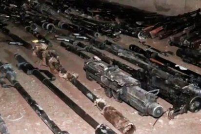 Confiscan cientos de armas a los milicianos de Jaish al Islam en Guta Oriental