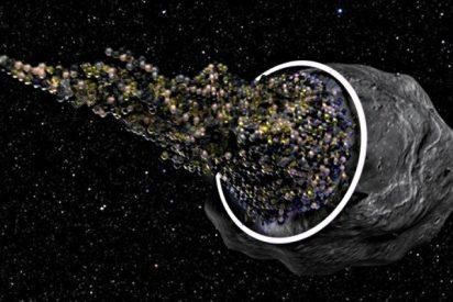 Un asteroide vaciado, con una nave espacial en su interior, es la nueva solución para el viaje interestelar