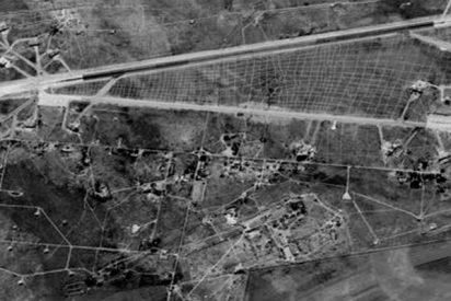 Así fue el ataque con misiles a esta base militar siria