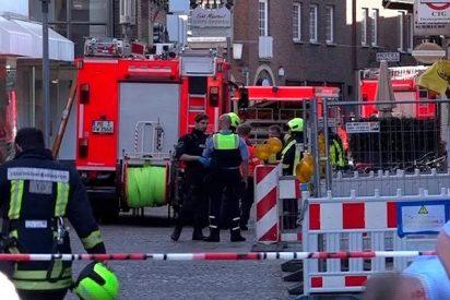 Imágenes del lugar del atropello masivo en Münster