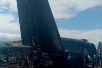 Más de 200 muertos tras estrellarse este avión militar en Argelia