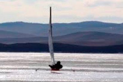 Así es la durísima carrera bajo cero en Baikal